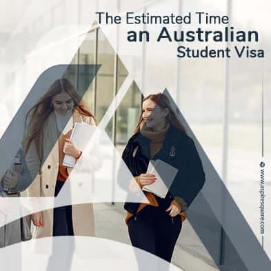 Australia student visa Processing time for application
