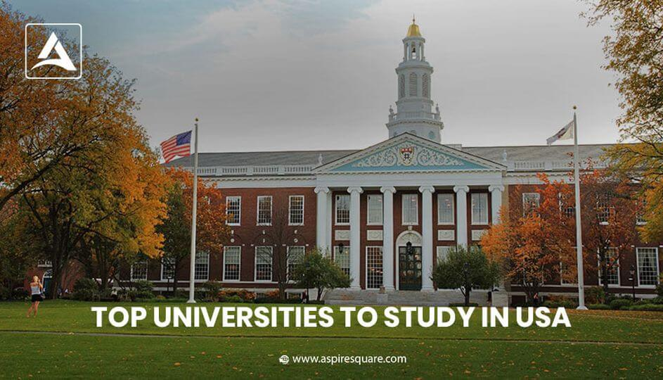 Top Universities to Study in USA