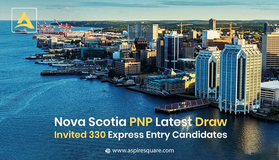 Nova Scotia PNP declares the latest draws and invited 330 candidates